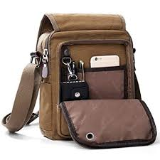 XINCADA Mens Bag Messenger Bag Canvas ... - Amazon.com