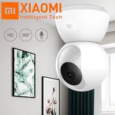 Original Xiaomi <b>Mijia 1080P</b> 360 Degrees <b>Home Panoramic</b> WiFi IP ...
