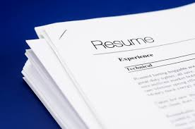 Image result for pictures of resumes
