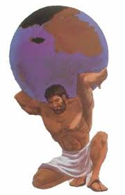 Image result for atlas holding up the world