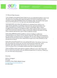 sample letters of recommendation for special education teachers sweigard letter of recommendation 2013