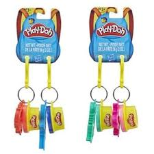 <b>Hasbro</b> Play-Doh <b>Масса для лепки</b> с 2 брелками E4996