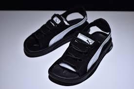 Cheap Price Puma Suede <b>Classic</b> Sandals Black/White 352634-01 ...