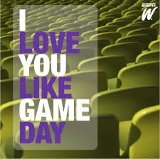 Dear Valentine... Love you like Game Day. | Love & Sports ...