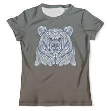 <b>Футболка</b> с полной запечаткой (мужская) <b>Ethnic</b> bear #2489364 от ...