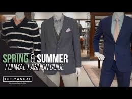<b>Spring and Summer</b> Formal Fashion Guide for 2018 - YouTube