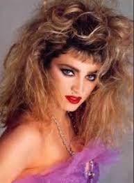 80s makeup hair