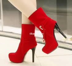 احذية حمراء بكعب عالي images?q=tbn:ANd9GcR