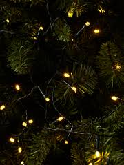 led string light christmas pine cones branch red beads stars home party wedding decorative garland decor d35