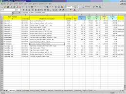 cpr concrete construction cost estimating software for excel sample screen 1
