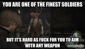 resident evil 4 logic memes | quickmeme via Relatably.com