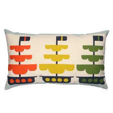 living room orla kiely multi: kids out at sea long cushion multi