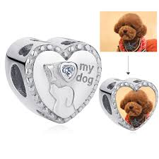 <b>2019</b> New <b>Fashion 925</b> Sterling <b>Silver</b> Custom Photo Dog Bead ...