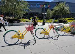 image of google office. when you enter the google office are immediately greeted by companyu0027s nowfamiliar bicycles googlers can use these to move around in image of