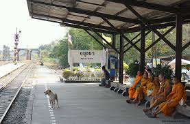 Image result for monks in railway stations
