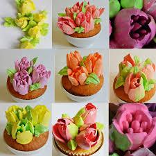 <b>40pcs Cake Nozzles</b> Stainless Steel Russian <b>Tips</b> Tulip Icing <b>Piping</b> ...