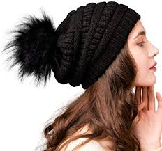 <b>FURTALK Womens</b> Winter <b>Knit</b> Slouchy Beanie Hat Warm Skull Ski ...