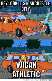 Hey look it's Manchester City... - homer simpson Meme Generator ... via Relatably.com