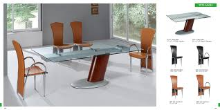 dining sets rectangular table glass top