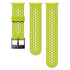 Купить <b>ремешок SUUNTO 24мм</b> Silicone Athletic Lime Strap ...