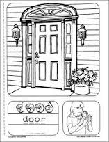 Door Sign Language U0026amp American Please Lock Socialmouth  N