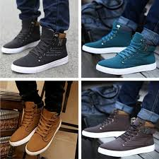 <b>Men's</b> Sneakers Comfortable Casual <b>Shoes Canvas Boots Fashion</b> ...