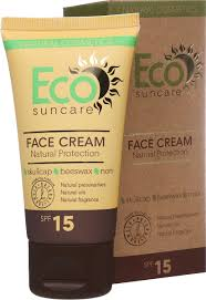 Natural <b>Sun Protection</b> Face <b>Cream</b> SPF 15
