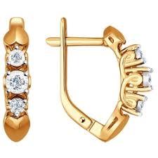 «<b>Серьги SOKOLOV из золота</b> с бриллиантами» — Результаты ...