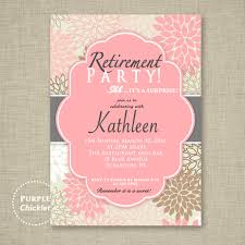 retirement party invitations surprise retirement party invitation pink adult surprise party invite floral party party invite printable personalized jpg file invite 8