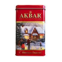 <b>Чай черный Akbar Limited</b> Edition Новогодний крупнолистовой 175 г
