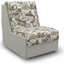 Кресло-кровать <b>Mebel Ars</b> Аккорд № 2 газета коричневая ППУ ...