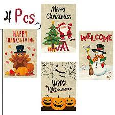 WATINC 4Pcs Garden Flag Merry Christmas ... - Amazon.com