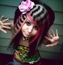 Stripes hair design