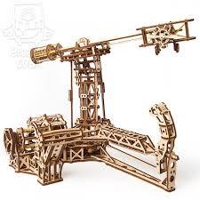 Деревянный 3D-<b>конструктор Ugears Авиатор</b> купить можно у нас ...