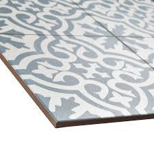 blue rug brown ceramic