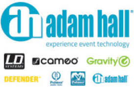founder adam hall group cameo hydrabeam 100 rgbw lighting set