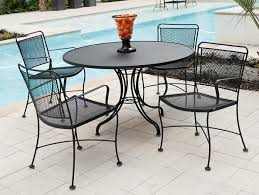 attractive rod iron patio chairs 4 wrought iron patio furniture attractive rod iron patio