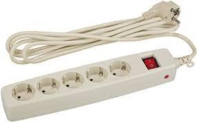 <b>Сетевой фильтр ЭРА SF-5es-2m-I</b> (сл. кость) купить в интернет ...