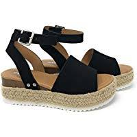 Amazon Best Sellers: Best <b>Women's Platform</b> & Wedge <b>Sandals</b>