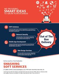 services flyer design template  smashing buzz  services flyer design template