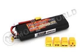 <b>Аккумулятор Gens</b> Ace <b>Li</b>-<b>Po</b> 7.4V, 4000mAh, 30C - купить в ...