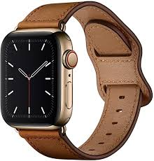 KYISGOS Compatible with iWatch <b>Band</b> 38mm 40mm, <b>Genuine</b>