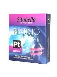 59% Sitabella <b>Стимулирующая насадка</b> с <b>усиками</b> Platino Шторм