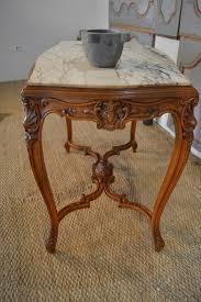 antique small table beech