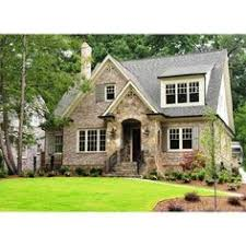 ideas about Cottage Style Houses on Pinterest   Cottage    home exteriors   stone brick cottage Cottage style home in Atlanta ❤ liked on Polyvore