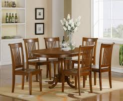 Dining Room Sets 6 Chairs Details About 7 Pc Oval Dinette Dining Room Set Table And 6 Chairs