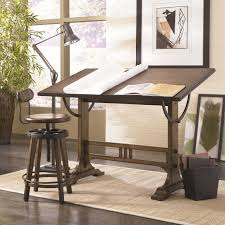 mission weathered oak architect desk architect office supplies