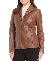 <b>Women's</b> Leather & <b>Faux</b>-<b>Leather Coats</b> | Dillard's