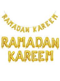 Buy 16'' Eid <b>Mubarak</b> Aluminum <b>Foil Balloons Ramadan</b> Home ...