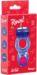 Купить анонимно <b>эрекционное кольцо Rings Ringer</b> purple и ...